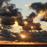Beautiful sunset sky Royalty Free Stock Photography