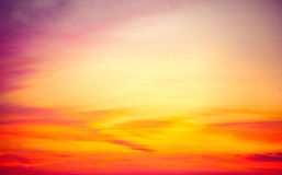 Beautiful sunset Royalty Free Stock Images