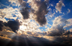 Beautiful sunset sky Royalty Free Stock Images