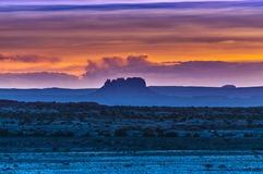 Beautiful Sunset Sky in Needles District Royalty Free Stock Photography