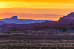 Beautiful Sunset Sky in Needles District Royalty Free Stock Images