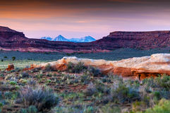 Beautiful Sunset Sky in Needles District Stock Photos