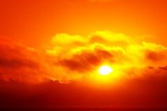 Beautiful sunset sky Stock Photo