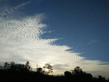 Beautiful sunset sky of sri lankan photo royalty free stock photo
