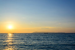 Beautiful sunset sky Royalty Free Stock Image