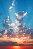Beautiful sunset. Stock Photos