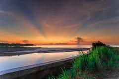 Beautiful sunset and sunrise Royalty Free Stock Photos