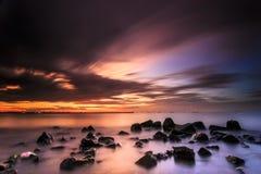 Beautiful sunset and sunrise Royalty Free Stock Images
