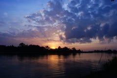 Beautiful sunset. In thailand twilight Stock Photo