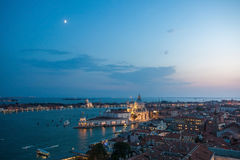 Beautiful sunset in Venice Stock Photography