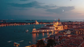 Beautiful sunset in Venice Royalty Free Stock Photography