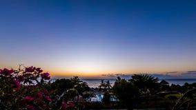 Beautiful sunset in Zanzibar. Time-lapse of a beautiful sunset in Zanzibar stock video footage