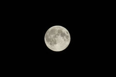 Beautiful supermoon Royalty Free Stock Photos
