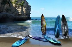 Beautiful surf tables Stock Images