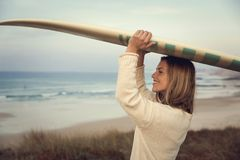 Happy surf day Stock Photo