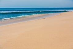 Beautiful surfing tropical sand beach Stock Photos