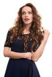 Beautiful Surprised Woman Royalty Free Stock Image