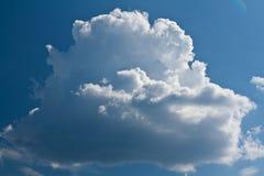 Beautiful surround a white cloud Royalty Free Stock Photo