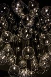 Beautiful suspension lights installation by Reflex Royalty Free Stock Images