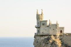 Beautiful Swallow's Nest Castle on the Rock, Crimea, Ukraine Stock Photo