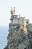 Beautiful Swallow's Nest Castle on the Rock, Crimea, Ukraine Stock Photography