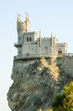 Beautiful Swallow's Nest Castle on the Rock, Crimea, Ukraine Royalty Free Stock Photos