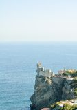 Beautiful Swallow's Nest Castle on the Rock, Crimea, Ukraine Stock Photos
