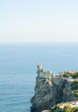 Beautiful Swallow's Nest Castle on the Rock, Crimea, Ukraine Stock Photos