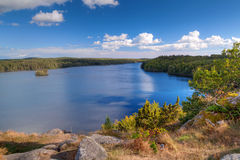 Beautiful swedish landscape Royalty Free Stock Photos