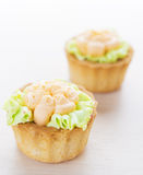 Beautiful sweet cakes Stock Photos
