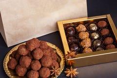 Beautiful sweet sets Stock Photo