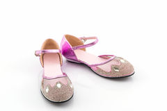 Beautiful of sweet shoes kid. Royalty Free Stock Image