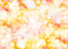 Beautiful sweet tones glittering lens festive background. Beautiful sweet yellow and pink tones glittering lens festive background Stock Image