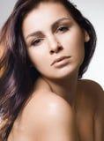 Beautiful sweet woman Stock Photos