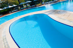 Beautiful swimming pool Royalty Free Stock Images