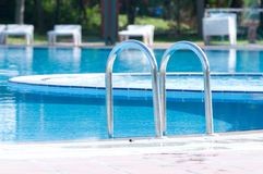Beautiful swimming pool Stock Image
