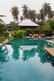 Beautiful swimming pool Royalty Free Stock Photos