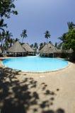 Beautiful swimming pool Stock Images
