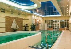 Beautiful swimming pool Stock Photo