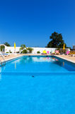 Beautiful swimming pool in hotel Royalty Free Stock Images