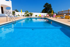 Beautiful swimming pool in hotel Stock Image