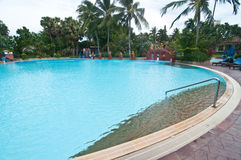 Beautiful swimming pool in Thailand Royalty Free Stock Image