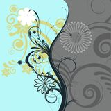 Beautiful swirl design Royalty Free Stock Images