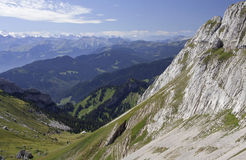 Beautiful swiss mountains Stock Photos