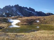 Beautiful Swiss mountains, fresh air Royalty Free Stock Image