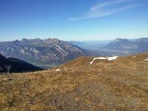 Beautiful Swiss mountains, fresh air Royalty Free Stock Photo