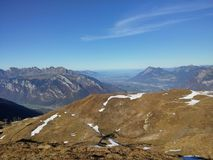 Beautiful Swiss mountains, fresh air Stock Photo