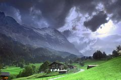 Beautiful Switzerland Royalty Free Stock Photography