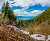 Beautiful Switzerland mountains landscape Stock Photography