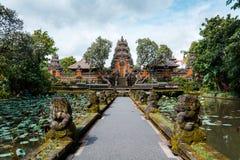 Beautiful symmetrical view of Saraswati Temple Royalty Free Stock Photo